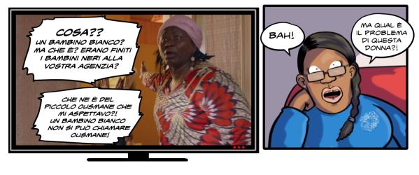 donna-nera-fumetto-vignetta